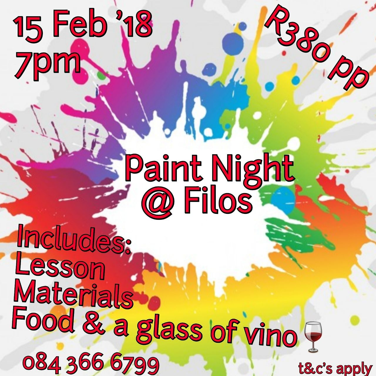 Filos Paint Night
